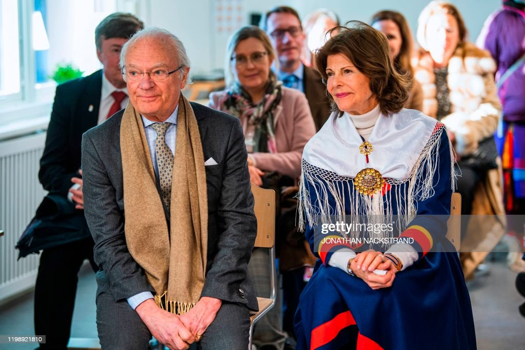 SWEDEN-ROYALS-SAMI-CULTURE-LIFESTYLE : News Photo