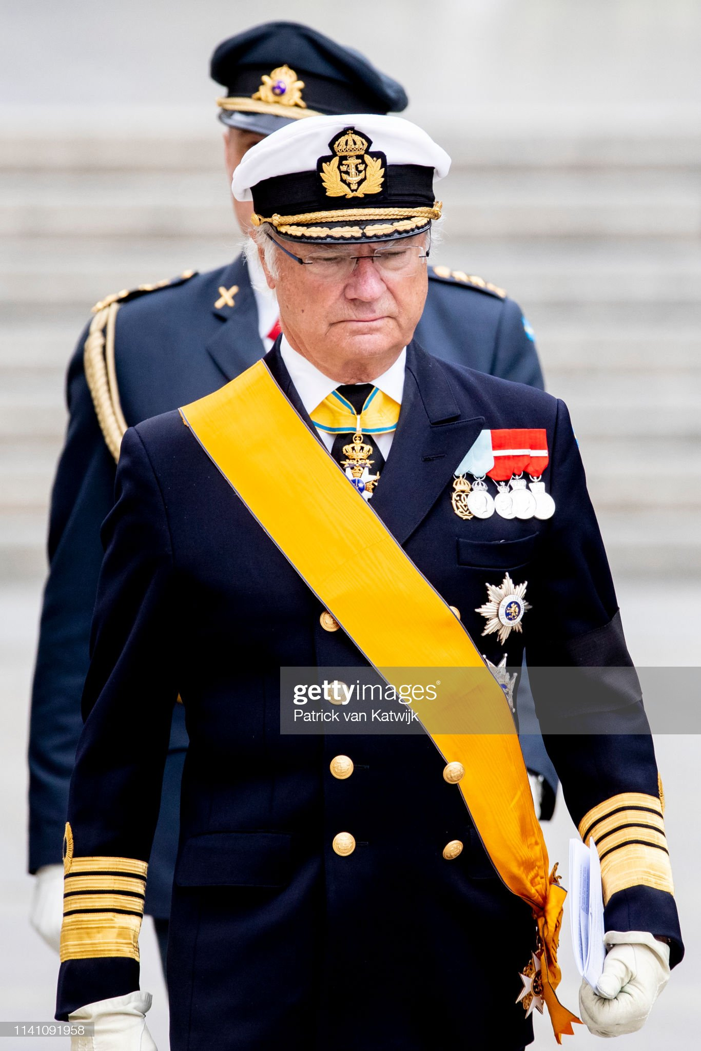 Похороны Великого Герцога Жана https://media.gettyimages.com/photos/king-carl-gustaf-of-sweden-attends-the-funeral-of-grand-duke-jean-on-picture-id1141091958?s=2048x2048
