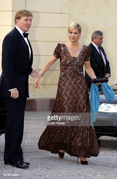 King Carl Gustaf Of Sweden'S 60Th Birthday CelebrationsCrown Prince WillemAlexander Crown Princess Maxima Of Holland Attend A Gala Dinner At...