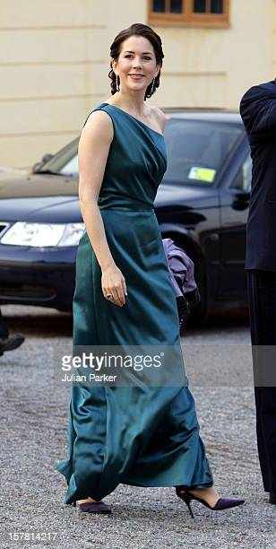 King Carl Gustaf Of Sweden'S 60Th Birthday CelebrationsCrown Princess Mary Of Denmark Attends A Gala Dinner At Drottningholm Palace