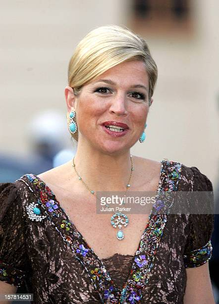 King Carl Gustaf Of Sweden'S 60Th Birthday CelebrationsCrown Princess Maxima Of Holland Attends A Gala Dinner At Drottningholm Palace