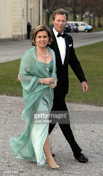 King Carl Gustaf Of Sweden'S 60Th Birthday CelebrationsGrand Duke Henri Grand Duchess MariaTheresa Of Luxembourg Attend A Gala Dinner At...