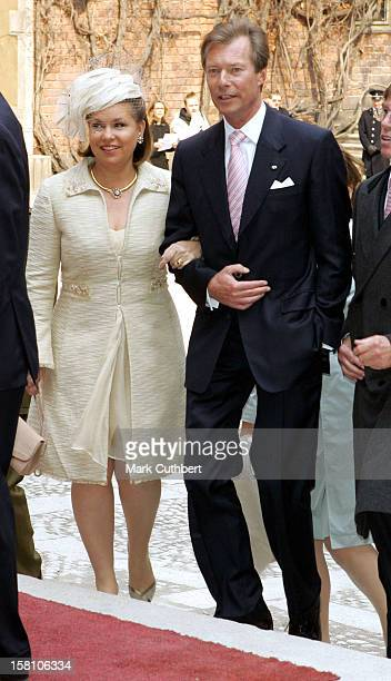 King Carl Gustaf Of Sweden'S 60Th Birthday Celebrations.Grand Duke Henri & Grand Duchess Maria-Theresa Of Luxembourg Attend The Parliaments Lunch At...