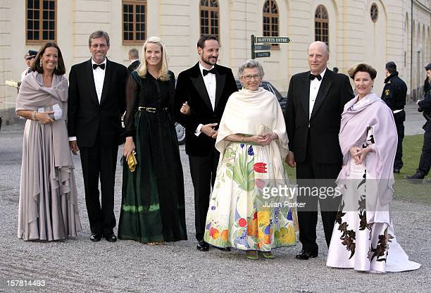 King Carl Gustaf Of Sweden'S 60Th Birthday CelebrationsKing Harald Queen Sonja Princess Astrid Crown Prince Haakon Crown Princess MetteMarit Of...