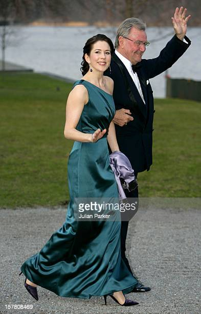 King Carl Gustaf Of Sweden'S 60Th Birthday CelebrationsPrince Henrik Crown Princess Mary Of Denmark Attend A Gala Dinner At Drottningholm Palace