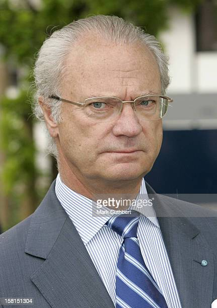 King Carl Gustaf Of Sweden-Visit To Foss Technology Centre In Hillerod Near Copenhagen During The Swedish State Visit To Denmark. .