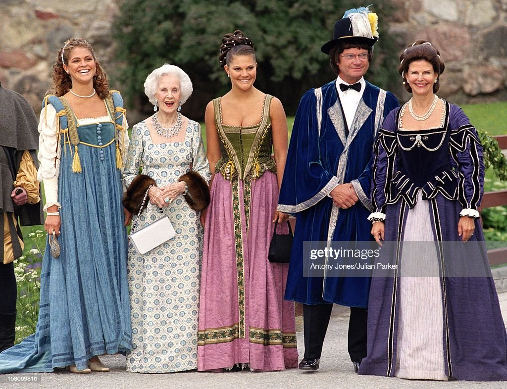 Celebrations For King Carl Gustav & Queen Silvia'S 25Th Wedding Anniversary : News Photo