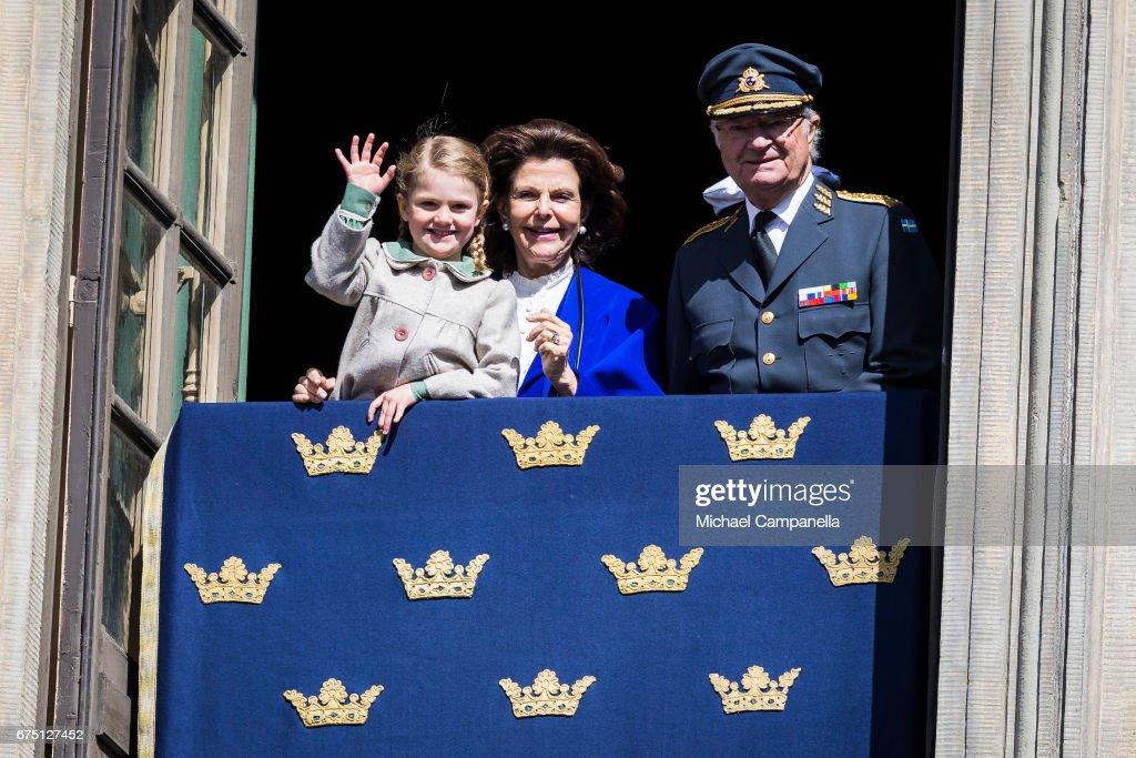 King Carl Gustav of Sweden's Birthday Celebrations