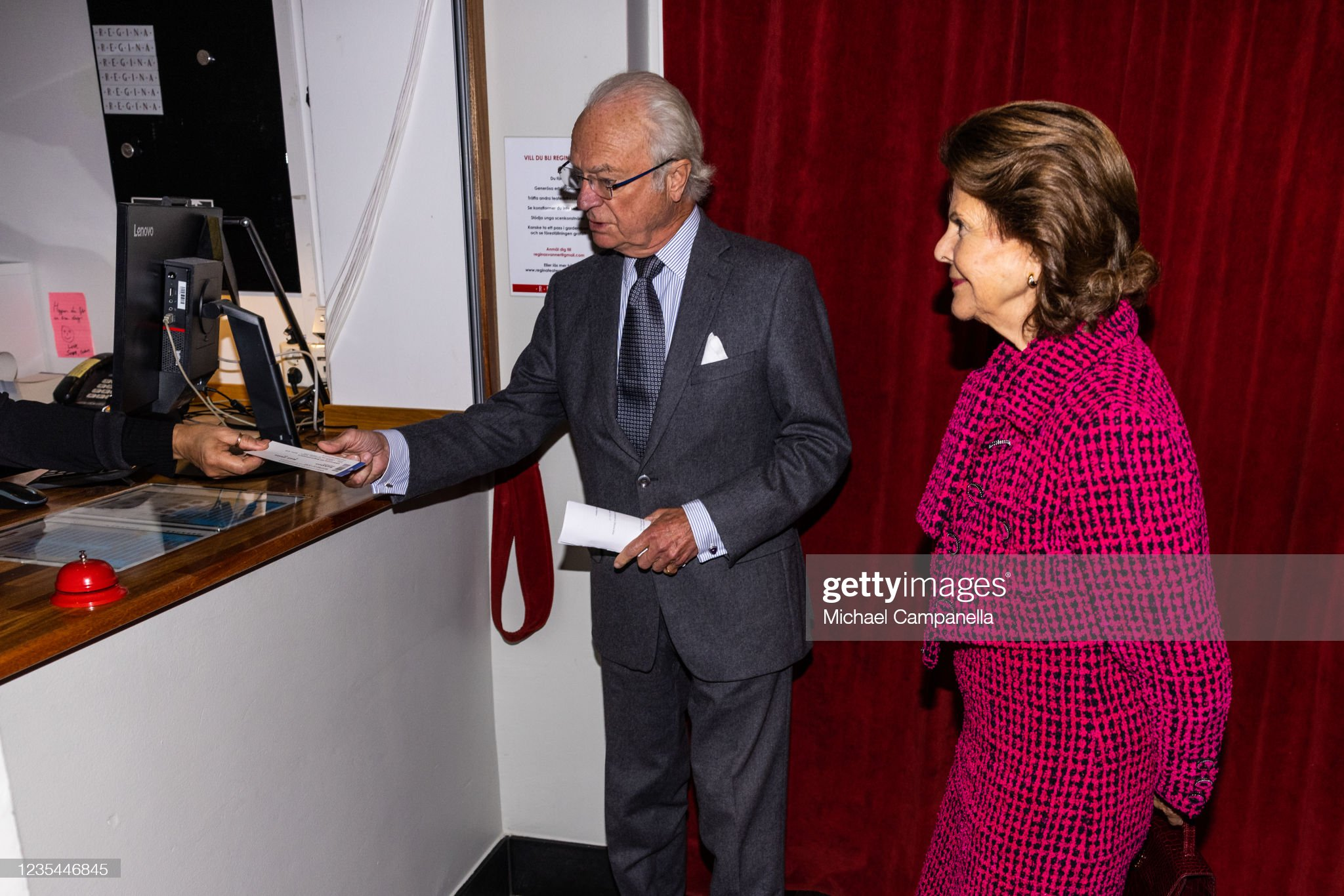 Swedish Royals Visit Uppsala County : News Photo