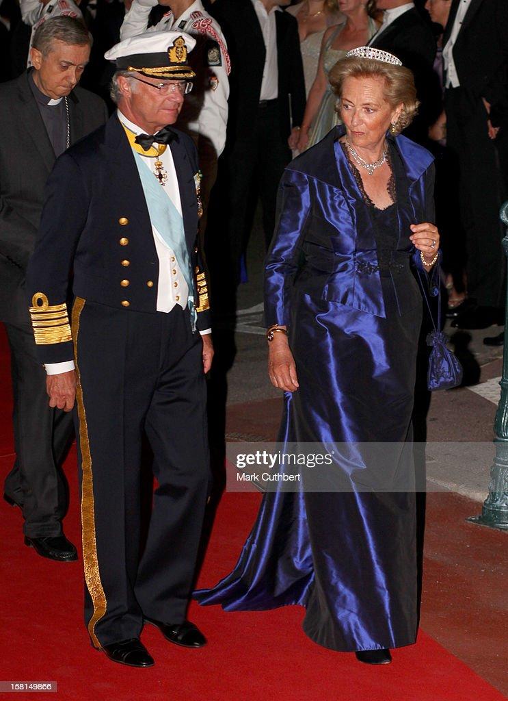 Monaco Royal Wedding : News Photo