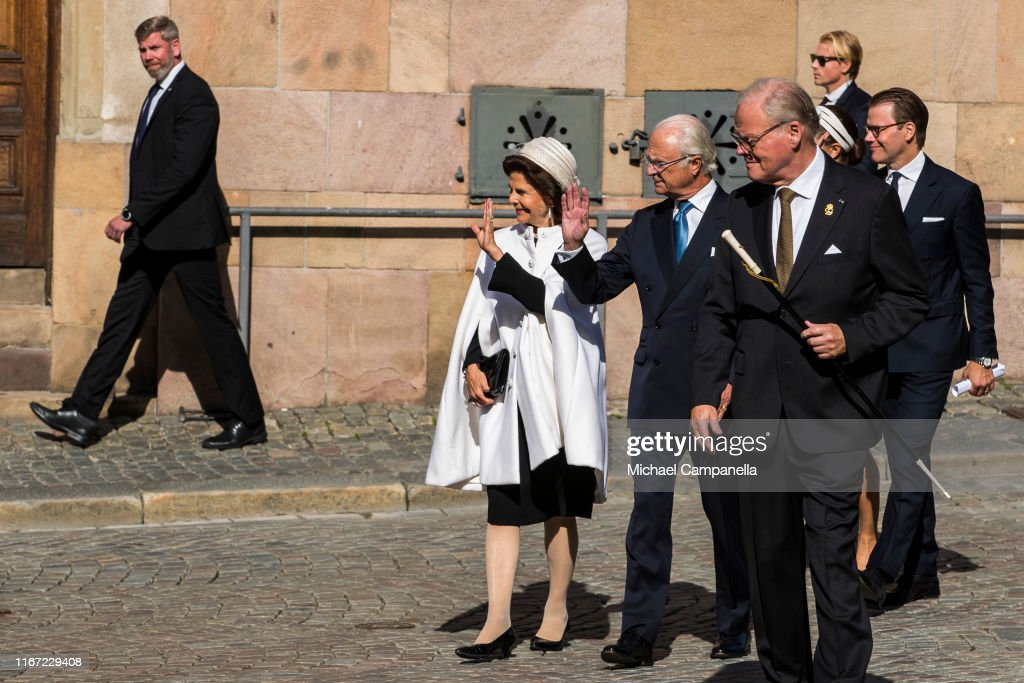Swedish Royals Attend The Opening Of The Parliamentary Session : Nyhetsfoto