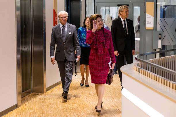 SWE: Swedish Royals Visit Uppsala County