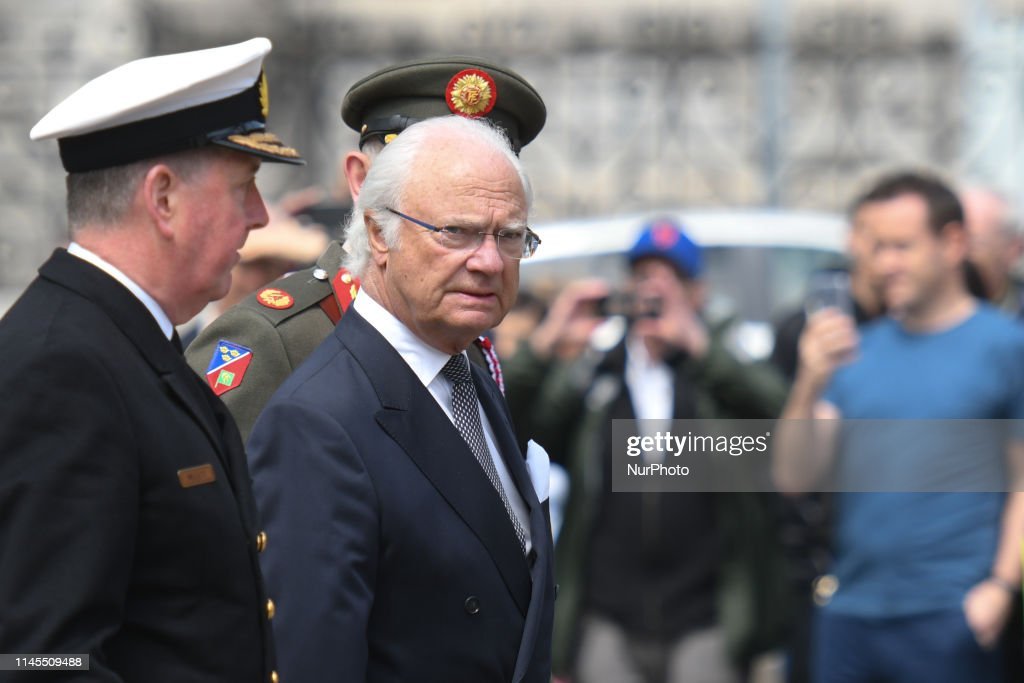 IRL: King Carl XVI Gustaf And Queen Silvia Of Sweden Visit Ireland - Day 1