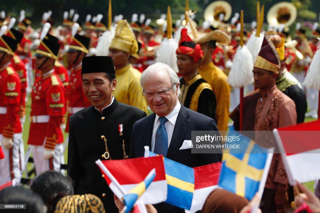 INDONESIA-SWEDEN-DIPLOMACY : News Photo