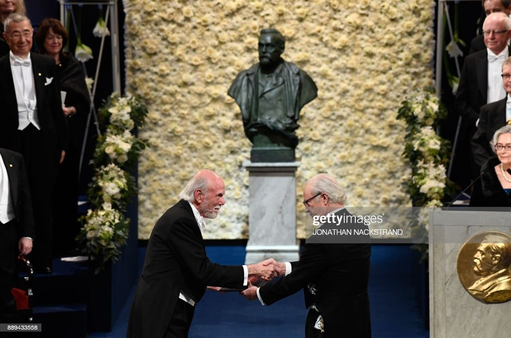NOBEL-PRIZES-SWEDEN : News Photo
