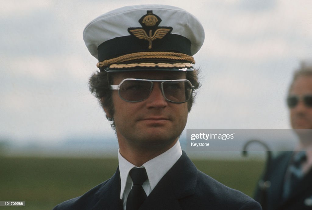 King Carl XVI Gustaf of Sweden in 1974.