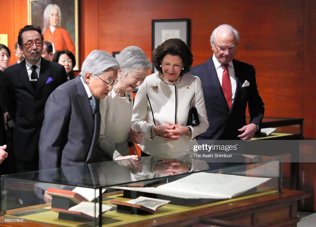 King Carl Gustav And Queen Silvia of Sweden Visit Japan - Day 2