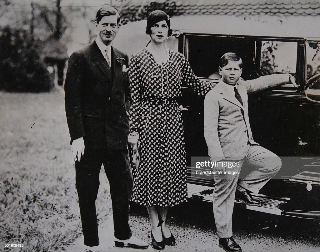 King Carol Ii. Of Romania With Family : News Photo