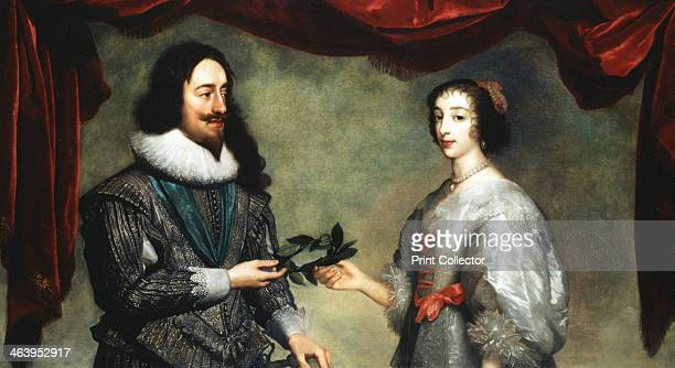 King Charles I and Queen Henrietta Maria Charles and Henrietta Maria were married in 1625 Charles was King of England Scotland and Ireland from 1625...