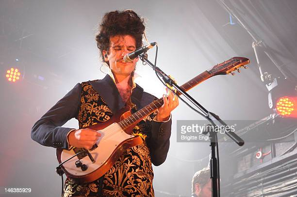 King Charles performs on stage at Heaven on May 31 2012 in London United Kingdom