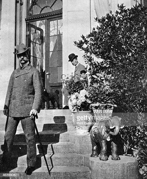 King Christian IX of Denmark and Prince Frederick 1904 From Queen Alexandra's Christmas Gift Book Photographs from My Camera by Queen Alexandra...