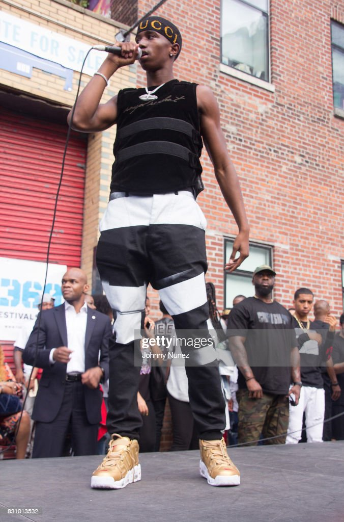 King Combs performs at the 4th Annual Source 360 on August 12, 2017 in the Brooklyn borough of New York City.