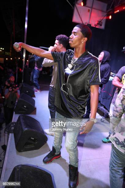 King Combs performs at The Fader Fort 2018 Day 3 on March 16 2018 in Austin Texas