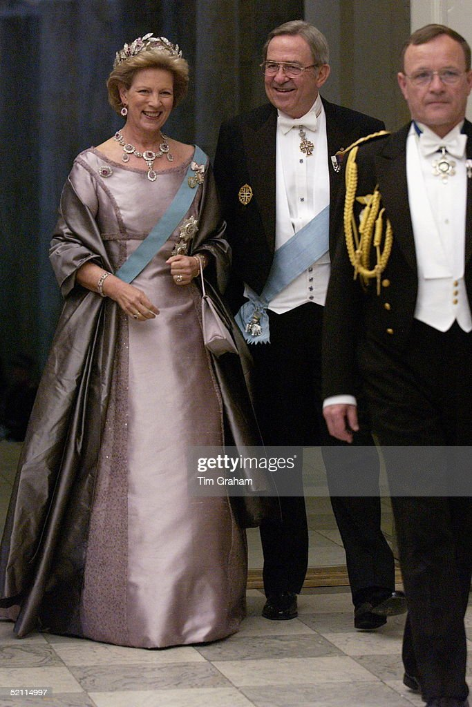 King Consantine And Queen Anne-marie Of Greece : News Photo