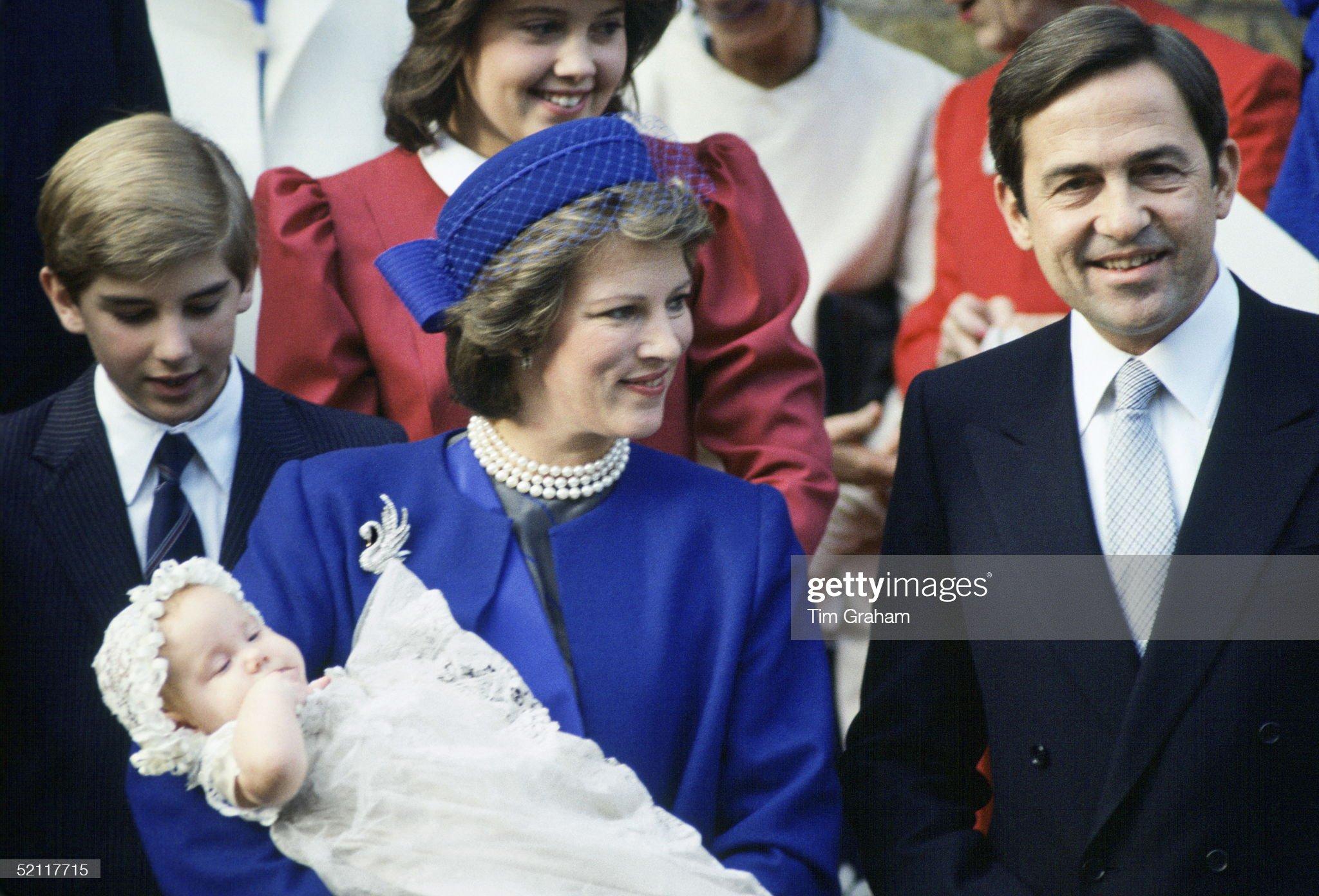 Christening Princess Theodora Of Greece : News Photo