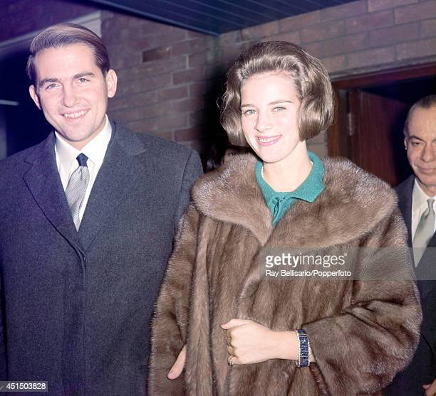 King Constantine and Queen AnneMarie of Greece in London circa 1969