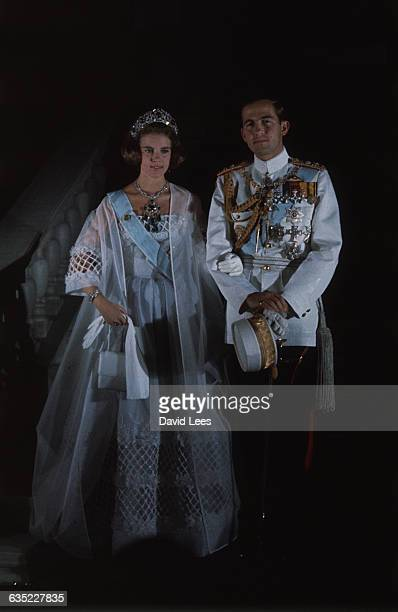 King Constantine born in 1940 was king of Greece 19641973 He married Princess AnneMarie youngest daughter of Frederik IX of Denmark In April 1967 the...