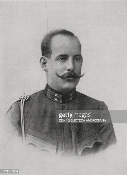 King Constantine I of Greece , from L'Illustrazione Italiana, Year XL, No 12, March 23, 1913.