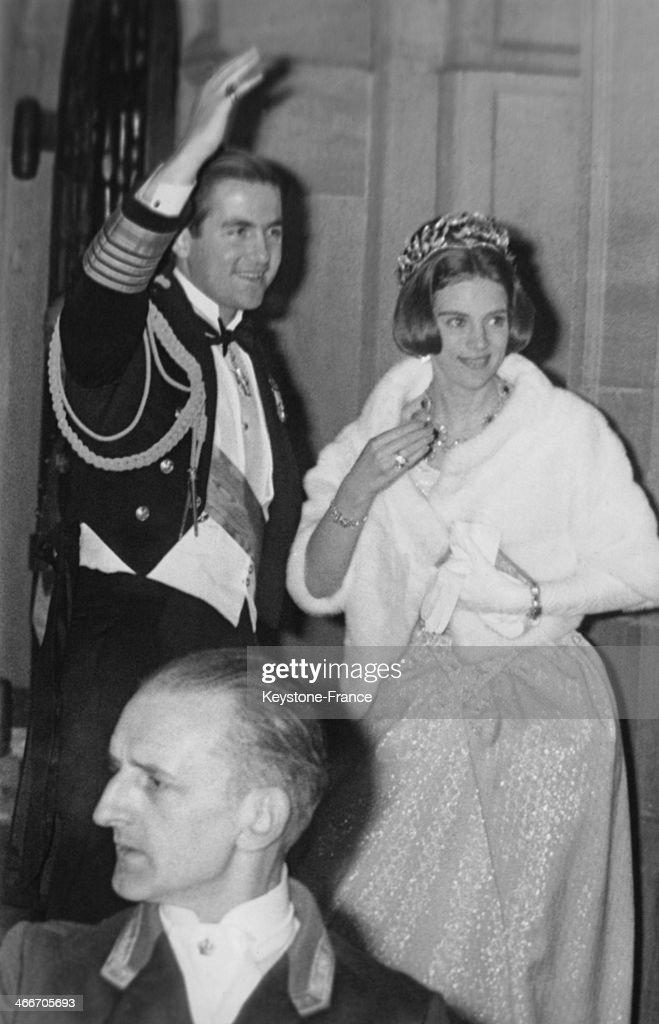 King Constantine II Of Greece : News Photo