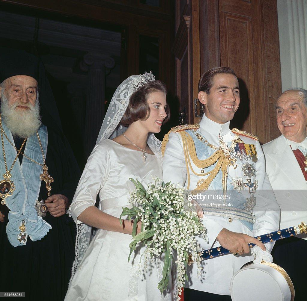 Wedding of King Constantine Of Greece : News Photo