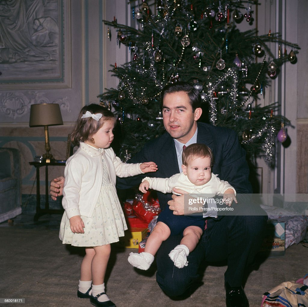 King Constantine II Of Greece In Exile : News Photo