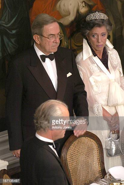 King Constantine Of Greece Attends A Gala Dinner At Fredensborg Palace To Celebrate Prince Henrik'S 70Th Birthday