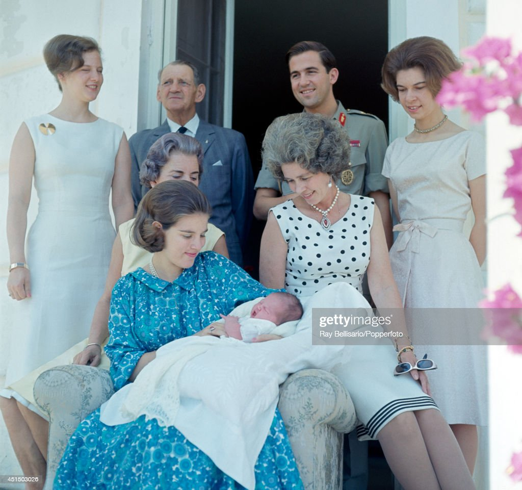 Royal Family Of Greece : News Photo