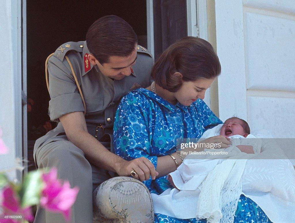 Greek Royal Family At Mon Repos : News Photo