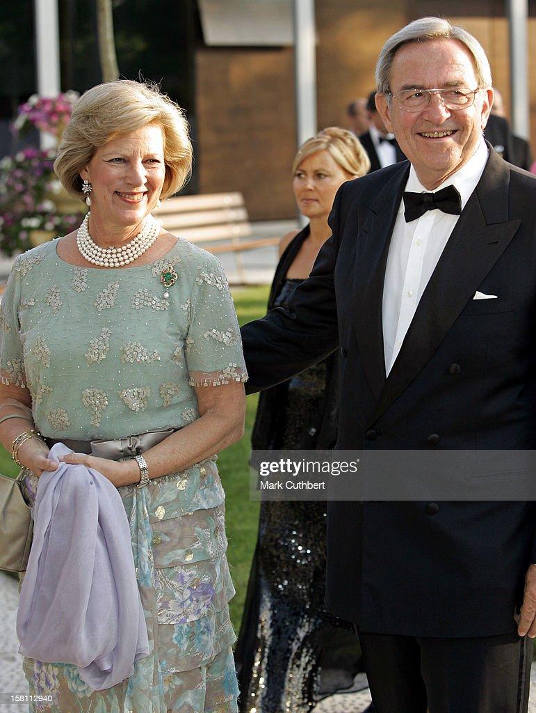 Silver Wedding Anniversary Celebrations Of Grand Duke Henri & Grand Duchess Maria-Theresa : Fotografía de noticias