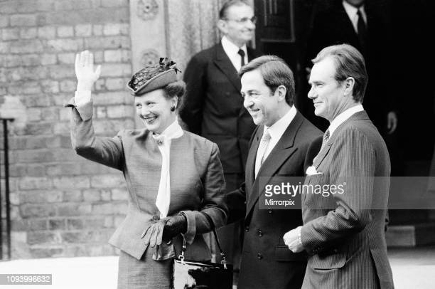 King Constantine's daughter, Theodora, is Christened in Bayswater in the Greek Cathedral. There was then a reception at Claridge's Hotel. Left to...