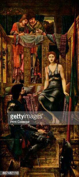 King Cophetua and the Beggar Maid' 1911 Painting held at the Tate Britain London From Bibby's Annual 1911 [J Bibby Sons Liverpool 1911] Artist Sir...