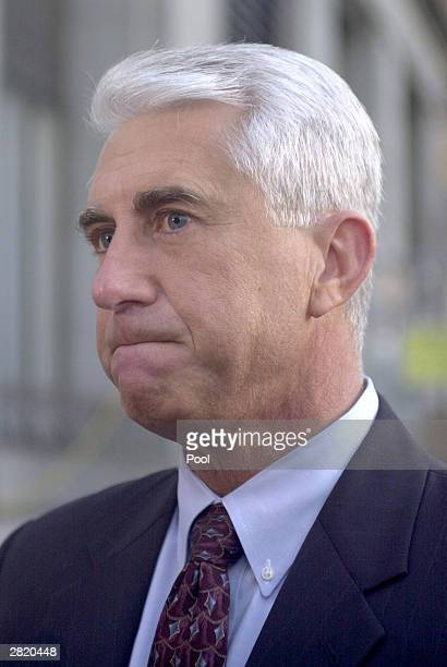 King County Sheriff Dave Reichert one of the original dectectives in the Green River Serail murder case is seen before the sentencing portion of Gary...