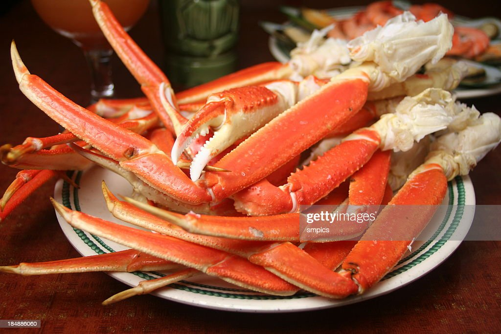 King Crab Legs : Stock Photo