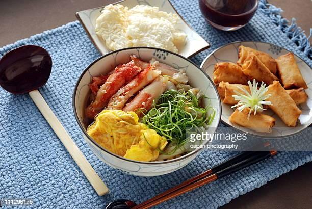 King Crab Udon set