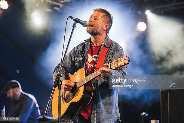 King Creosote performs on the 6 Music Stage at Latitude Festival on July 17 2015 in Southwold United Kingdom