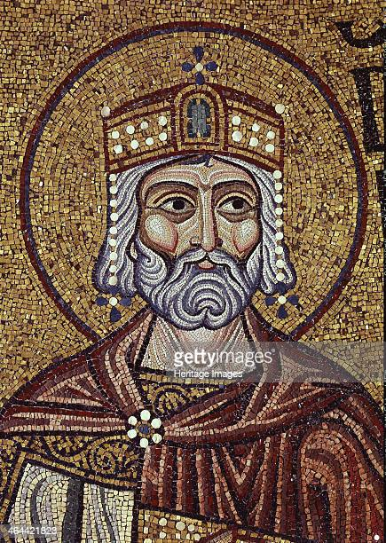King David 12th century Found in the collection of the Saint Mark's Basilica Venice
