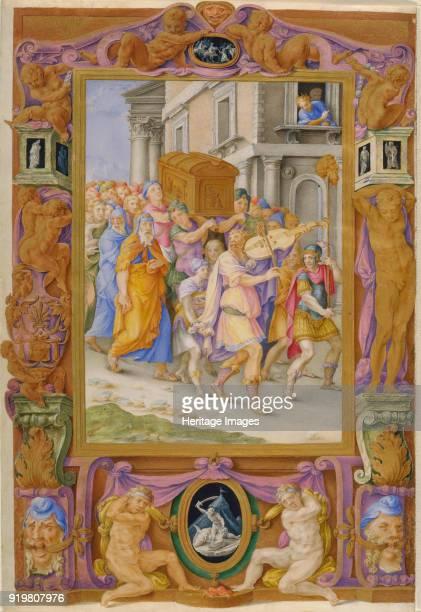 King David dancing before the Ark of the Covenant c1540 Found in the collection of Städtische Galerie im Städelschen Kunstinstitut Frankfurt am Main