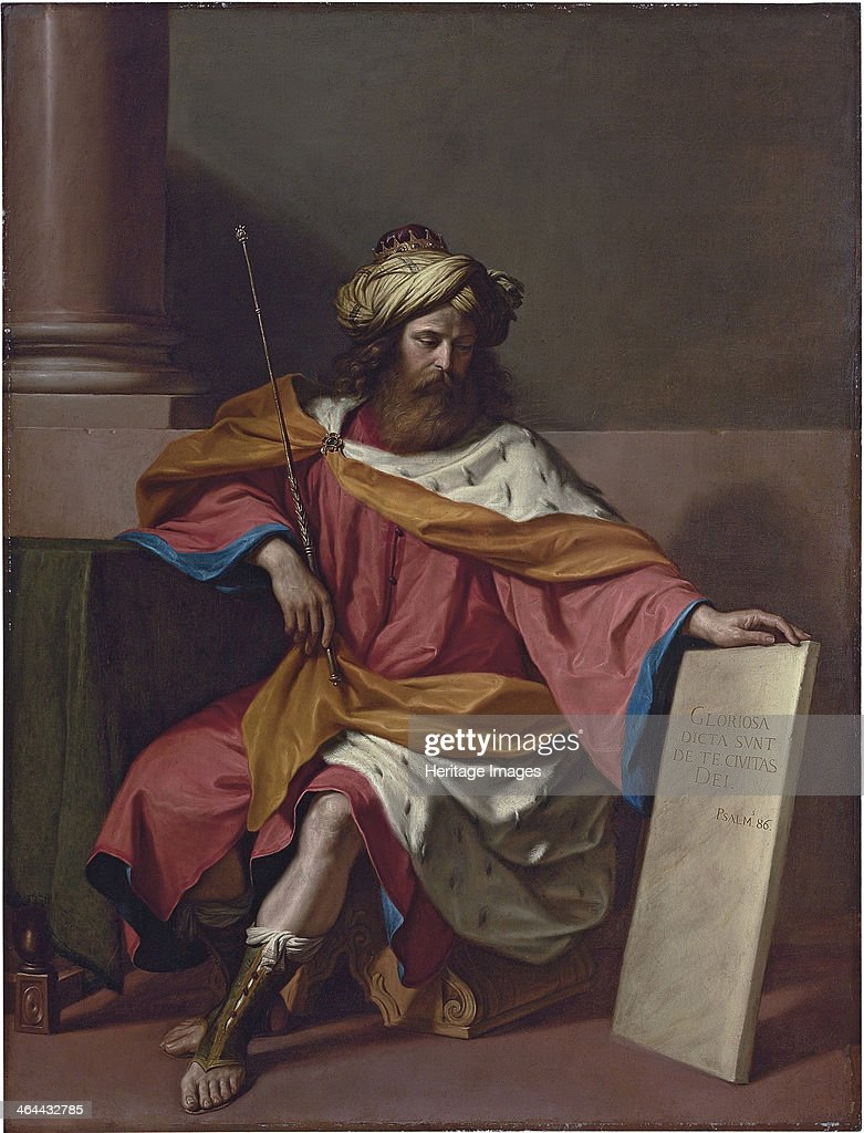 King David. From a private collection.