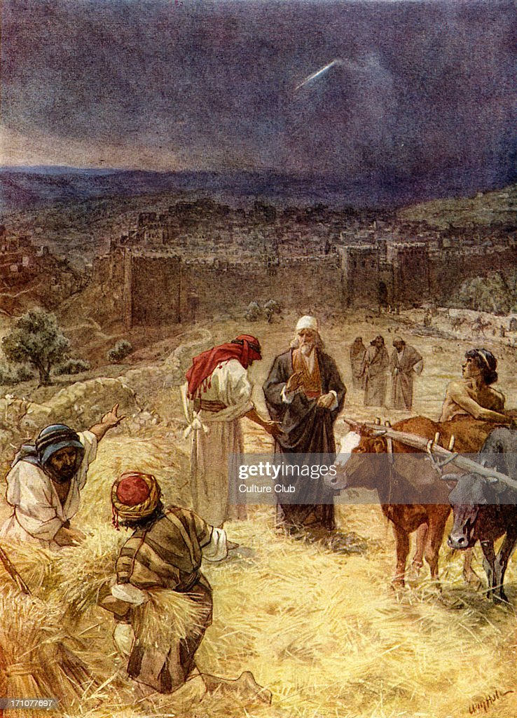 King David Purchasing The Threshing Floor Of Araunah The