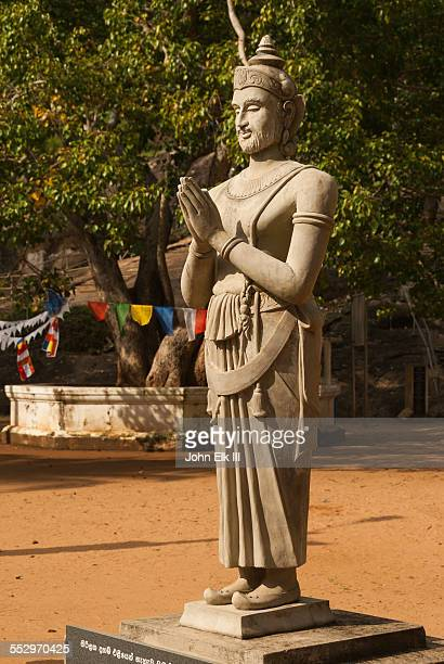 king devanampiya tissa image - mihintale stock pictures, royalty-free photos & images